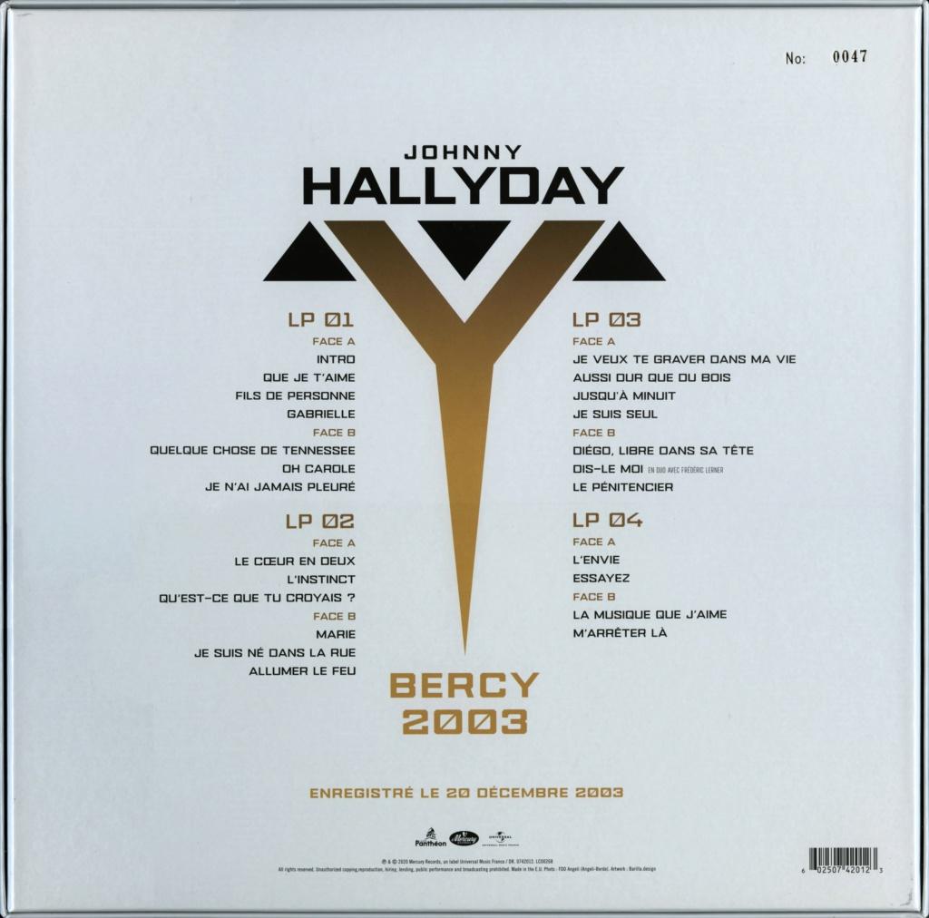 Le coffret 4 LP Bercy 2003 2020-184