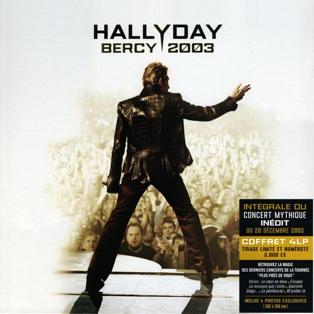 Le coffret 4 LP Bercy 2003 2020-186