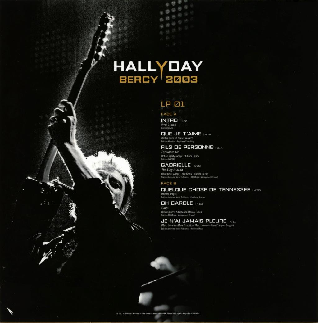 Le coffret 4 LP Bercy 2003 2020-187