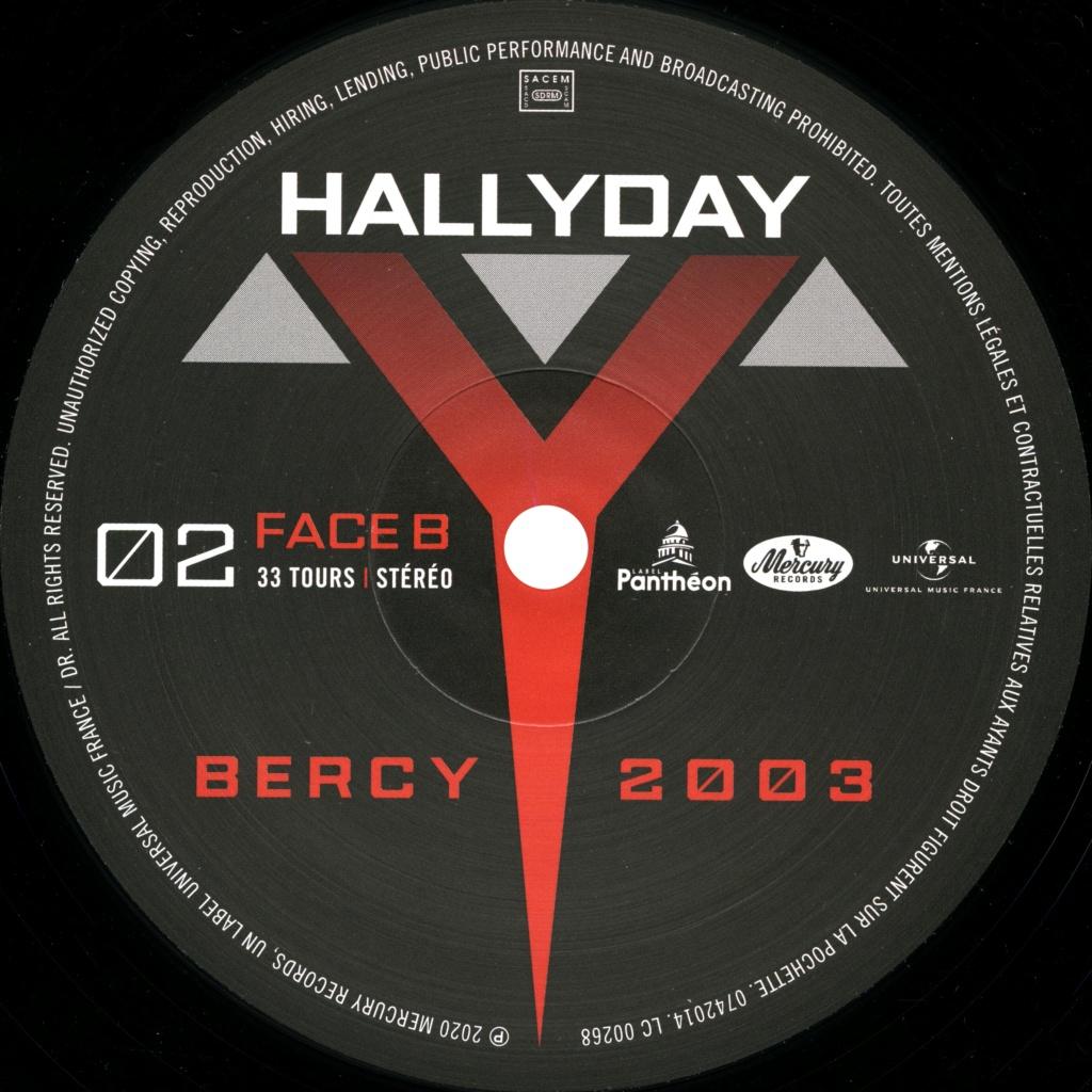 Le coffret 4 LP Bercy 2003 2020-196