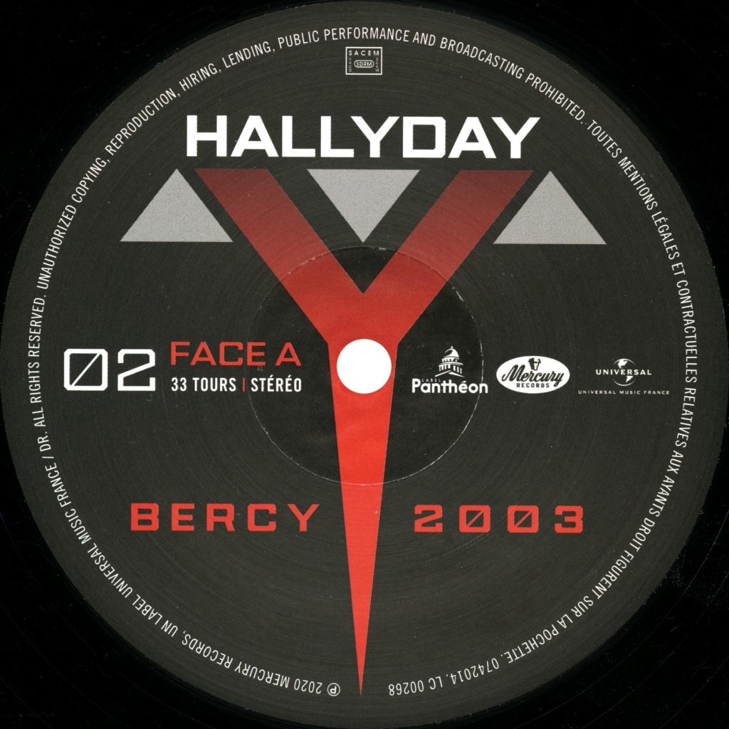 Le coffret 4 LP Bercy 2003 2020-197
