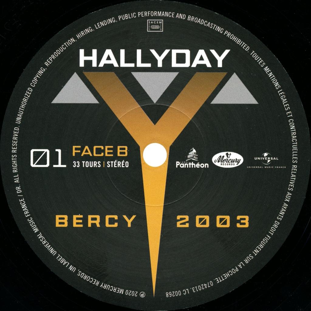 Le coffret 4 LP Bercy 2003 2020-198
