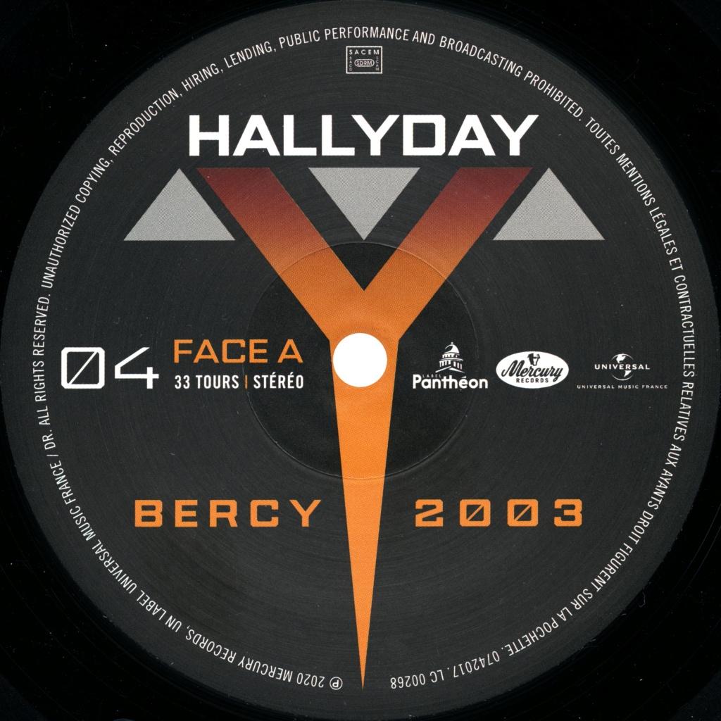 Le coffret 4 LP Bercy 2003 2020-199