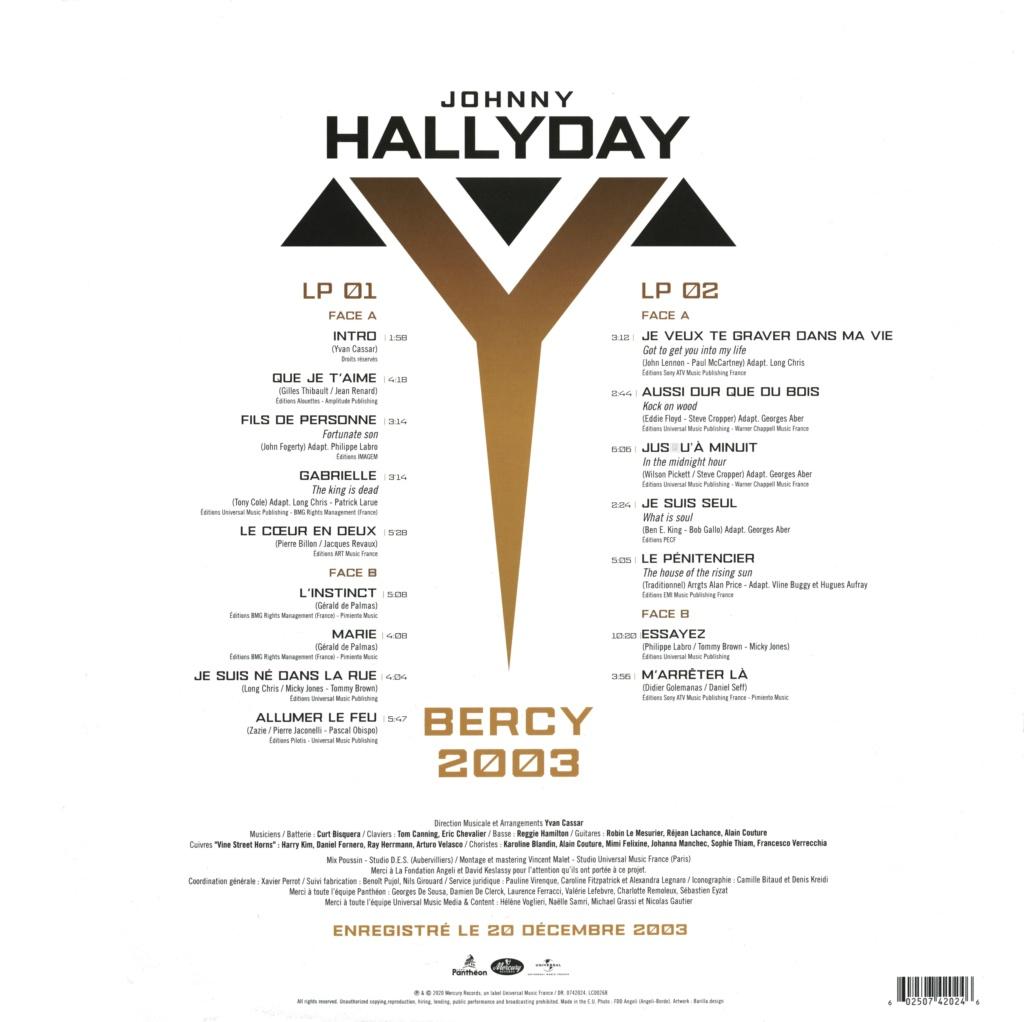 Bercy 2003 Le double LP 2020-203