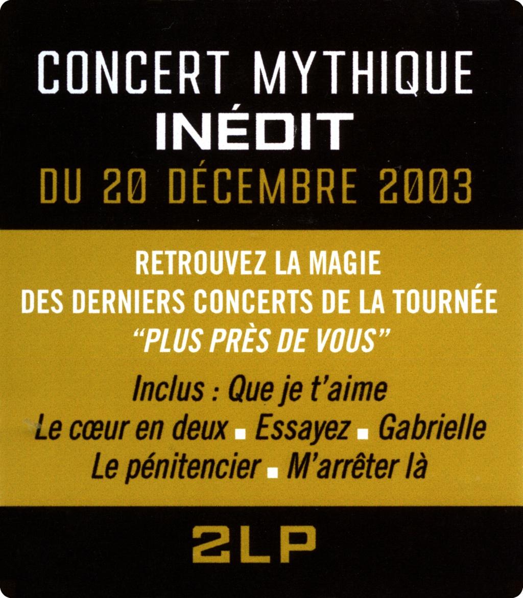 Bercy 2003 Le double LP 2020-204