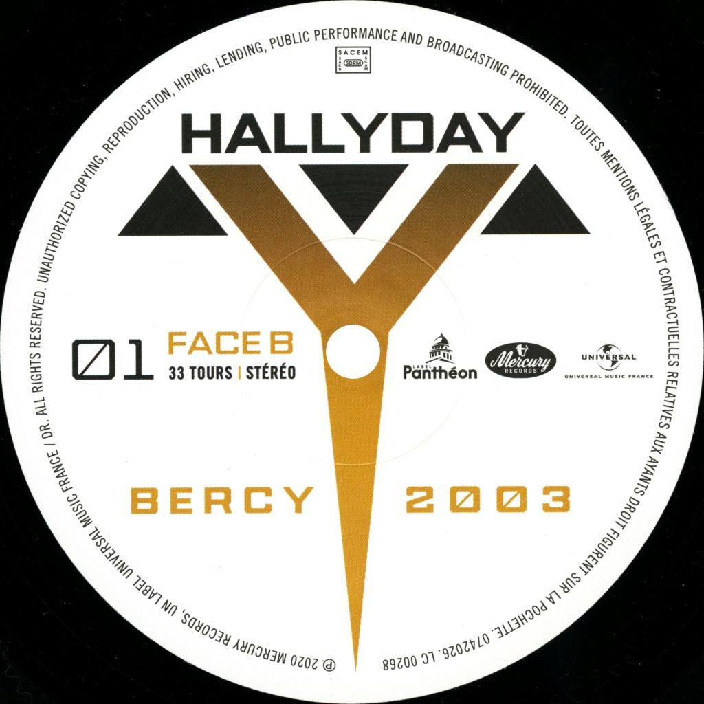 Bercy 2003 Le double LP 2020-206