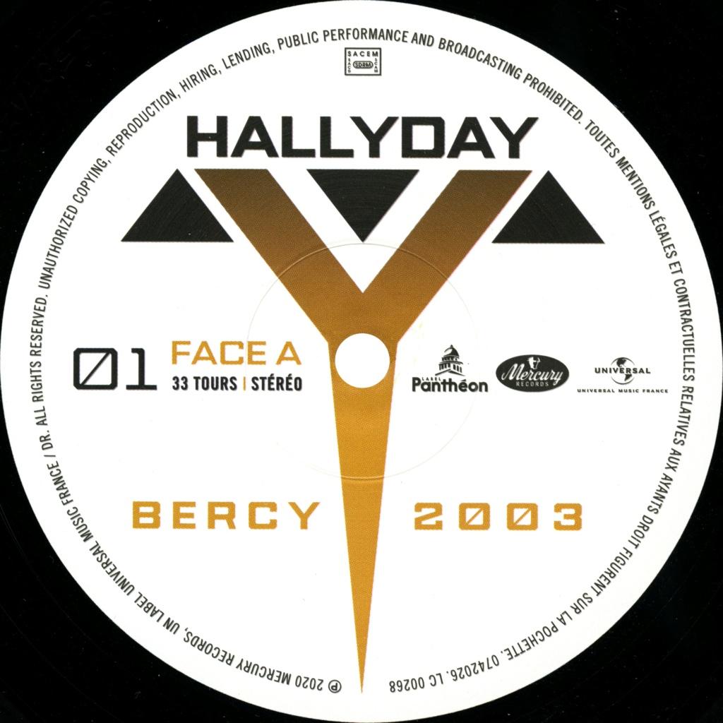 Bercy 2003 Le double LP 2020-207