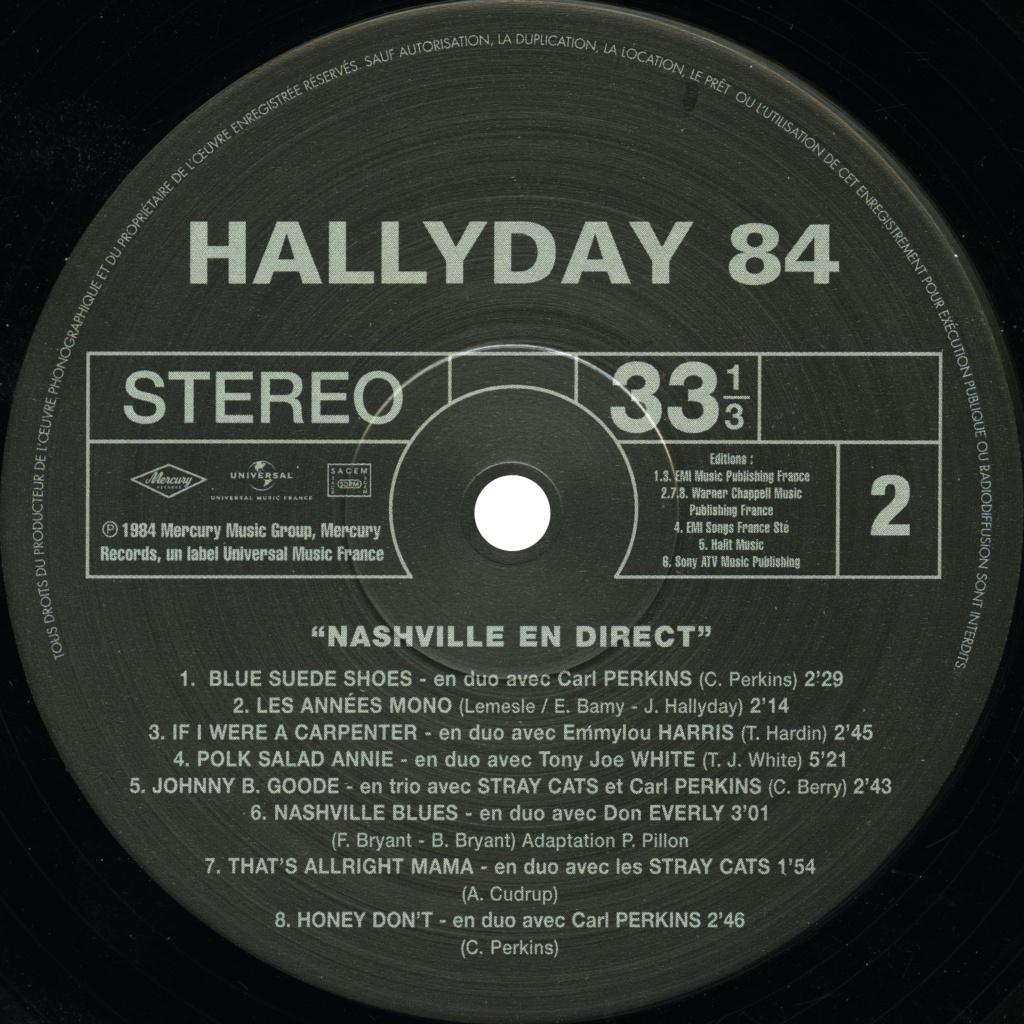 N° 23 Hallyday 84 Nashville en direct Hallyd13