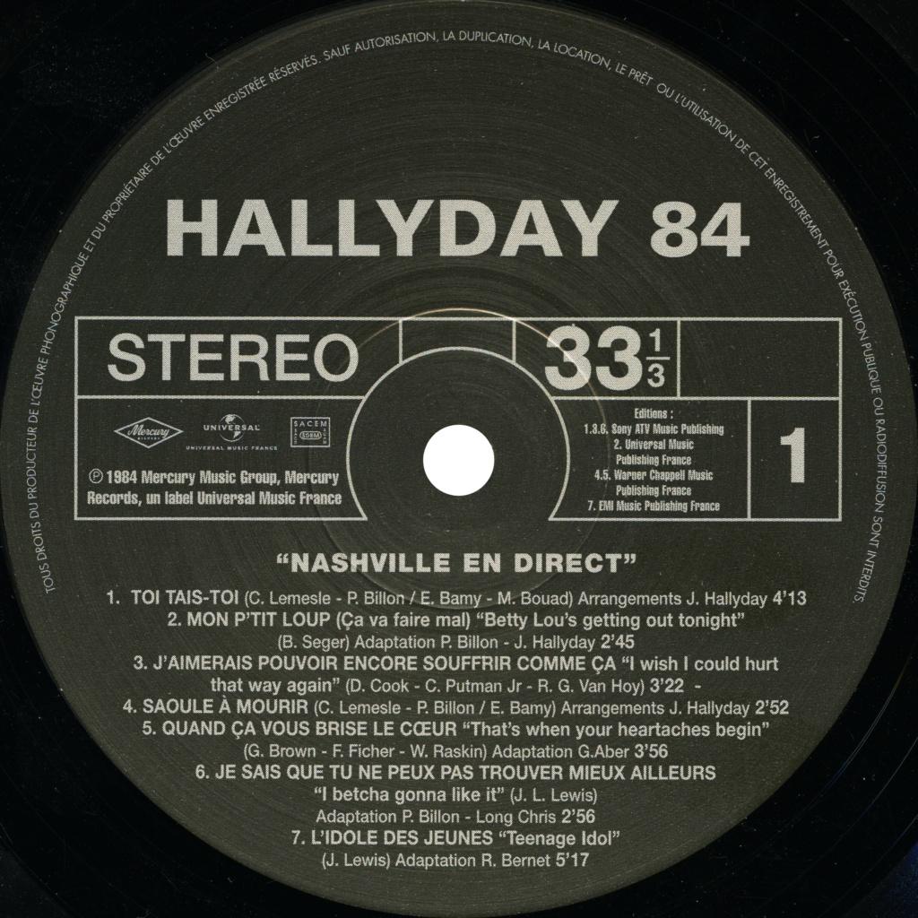 N° 23 Hallyday 84 Nashville en direct Hallyd14