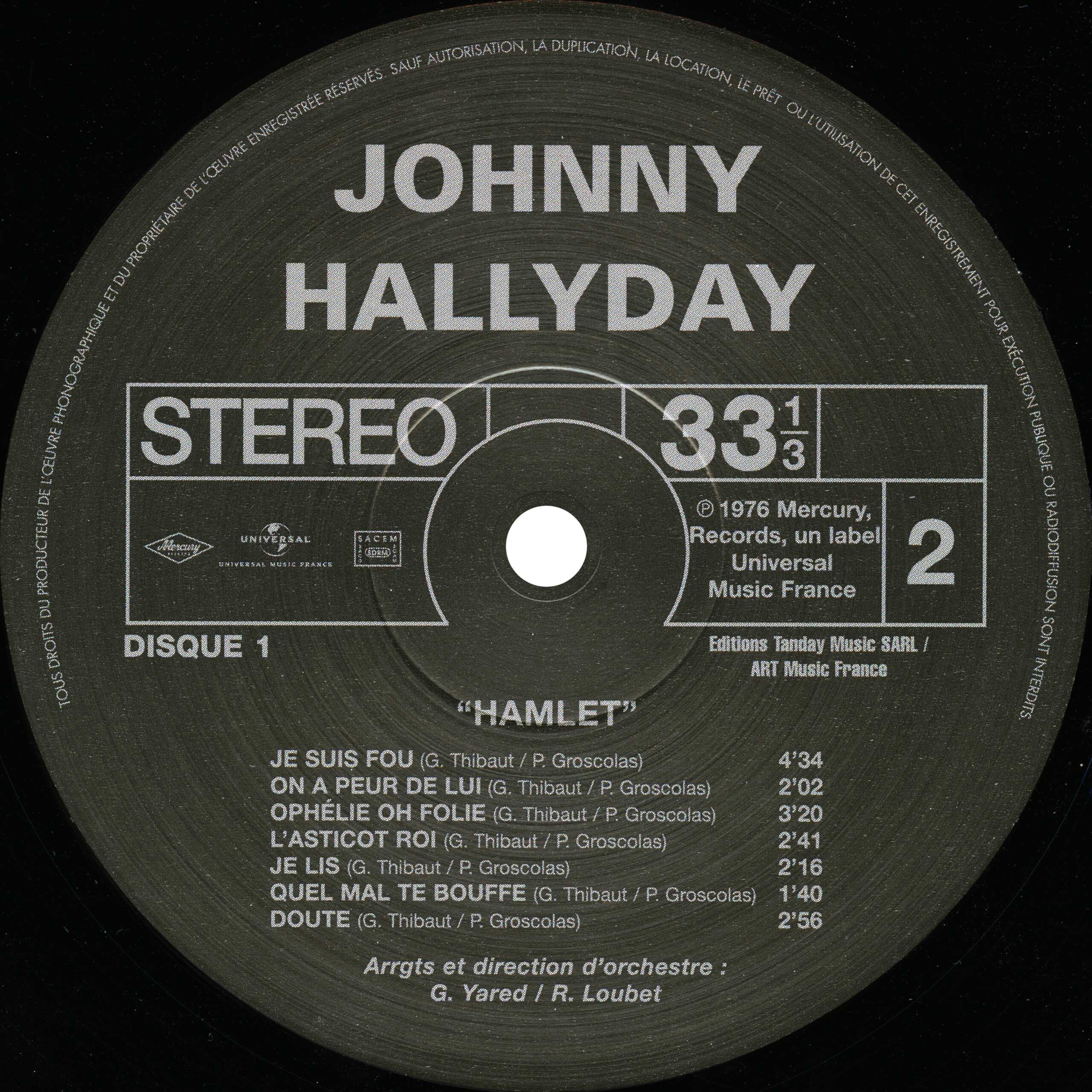 N° 28 Hamlet Hallyday Hamlet13