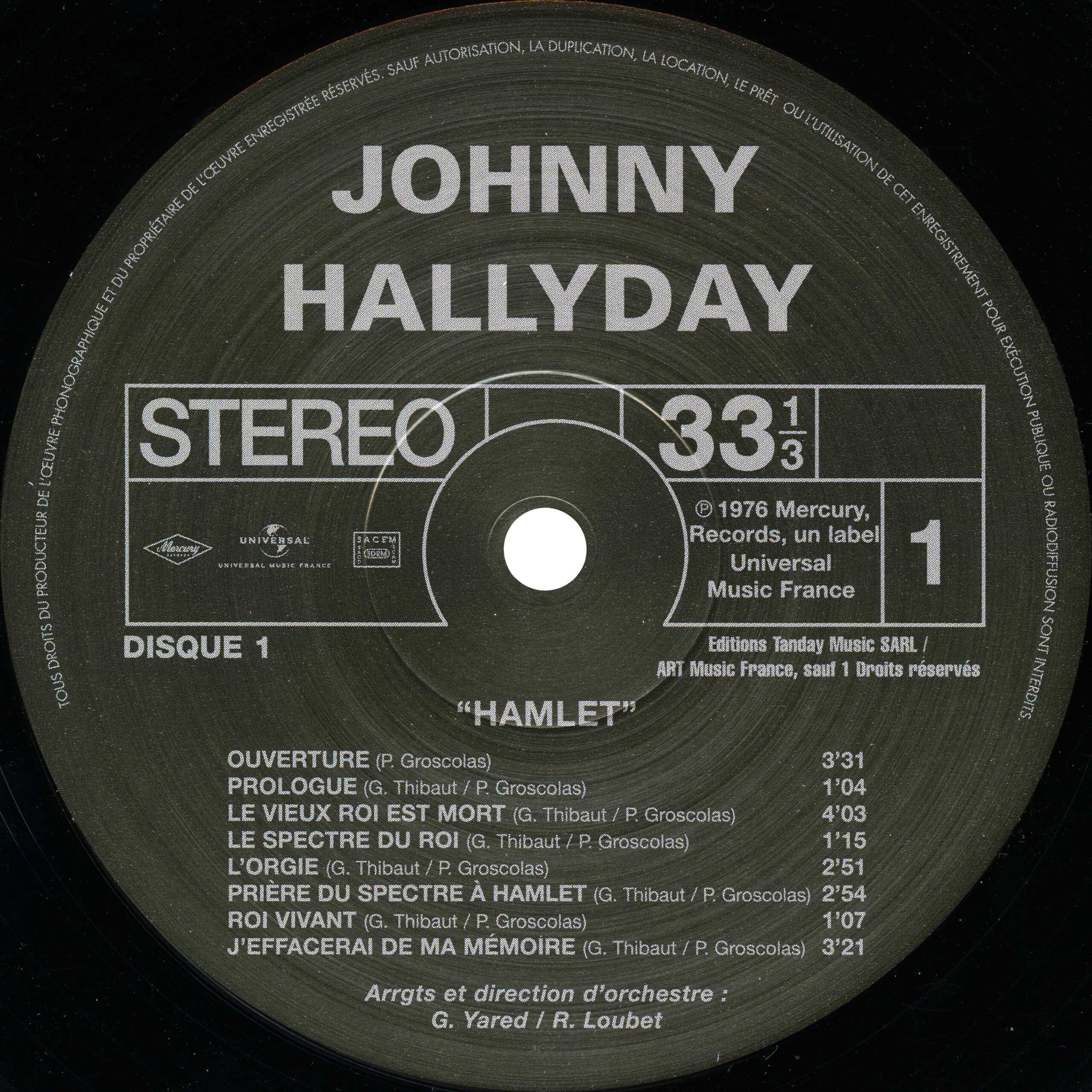 N° 28 Hamlet Hallyday Hamlet14