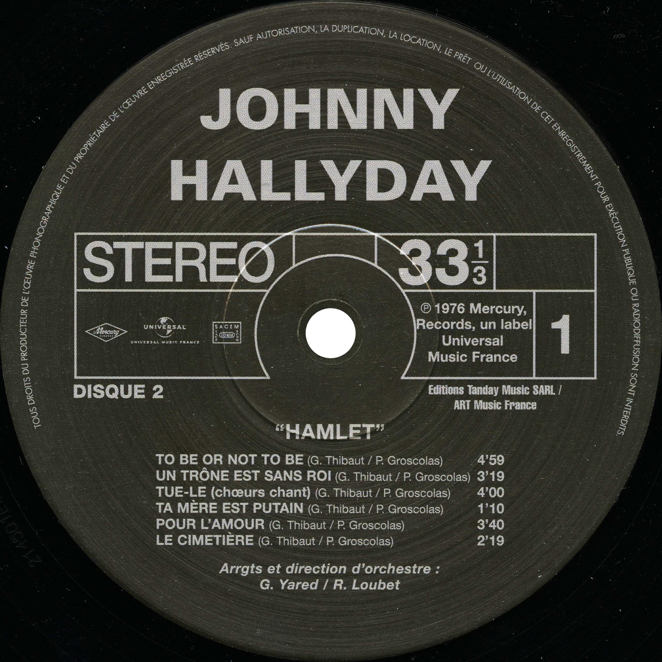 N° 28 Hamlet Hallyday Hamlet16
