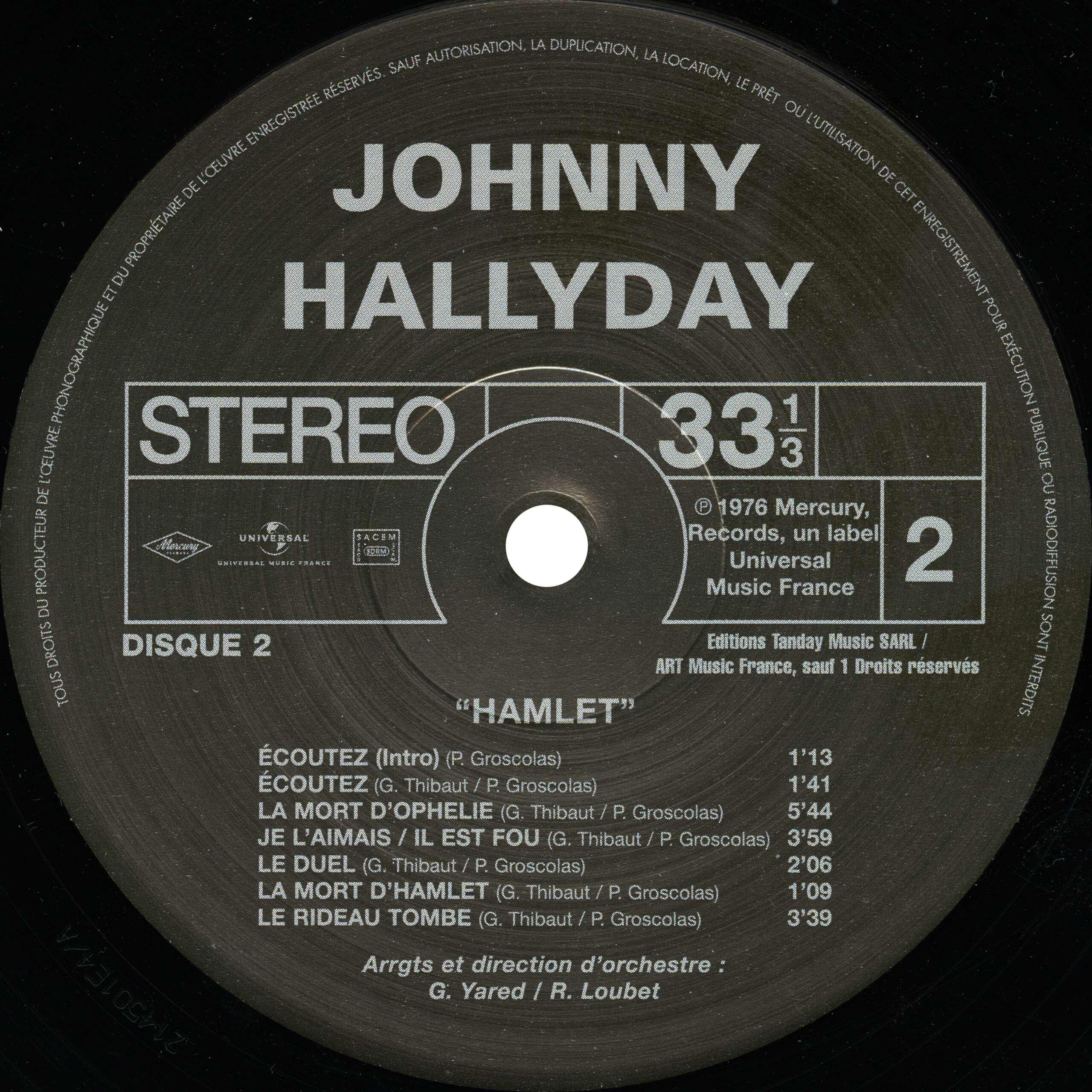 N° 28 Hamlet Hallyday Hamlet17