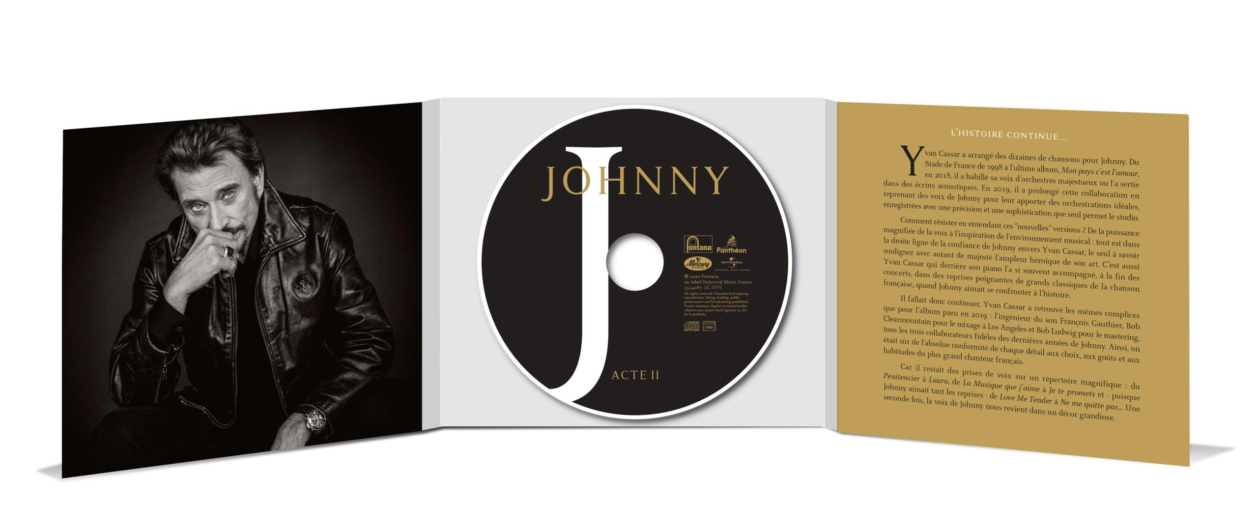 Visuel de l'Acte II Johnny38