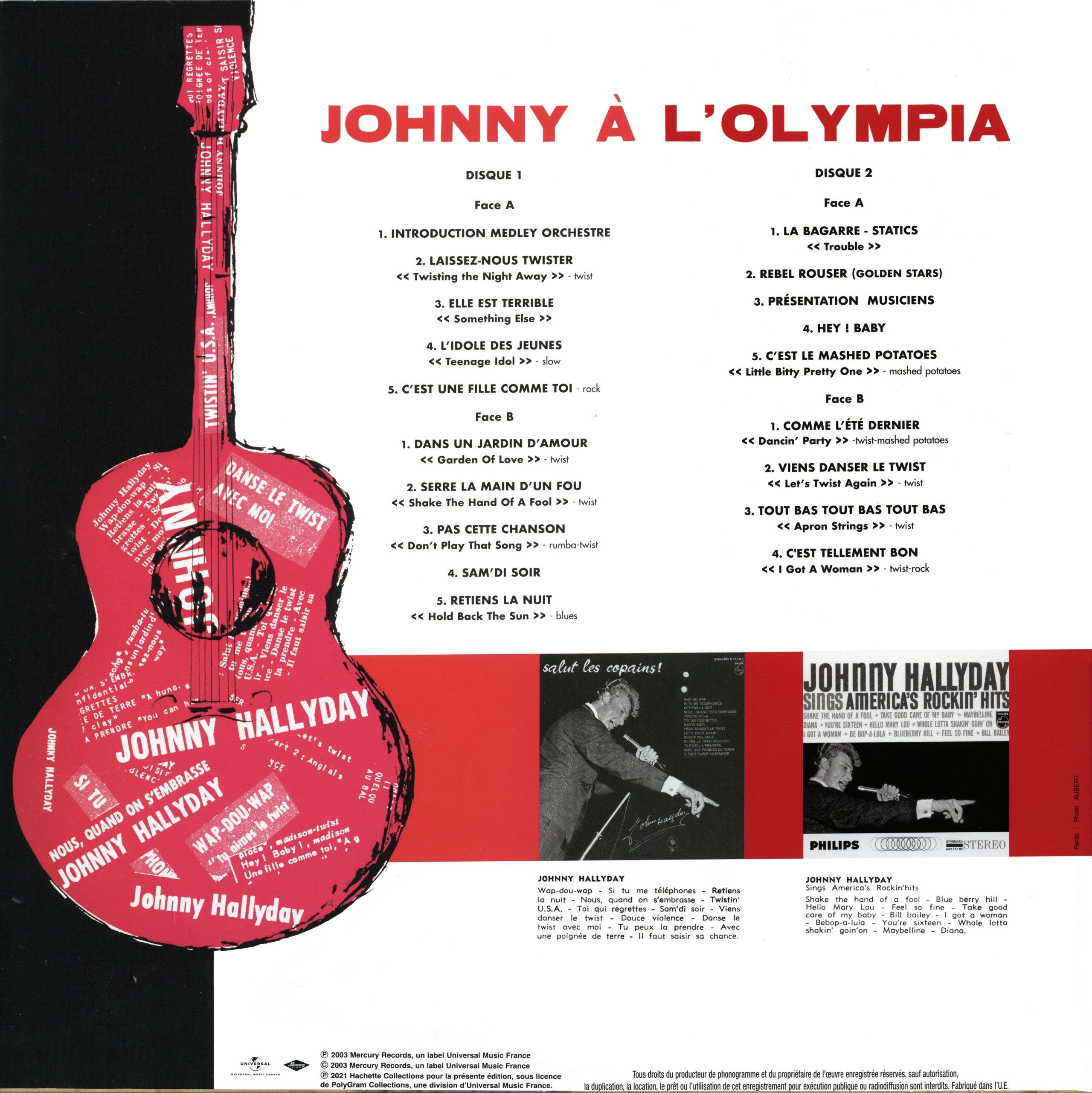 N° 39 Johnny à l'Olympia Johnny53