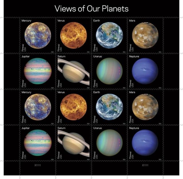 [Astrophilatélie] New Horizons et Pluton / Lune et Système Solaire par la Poste américaine en 2016 14-0_u10