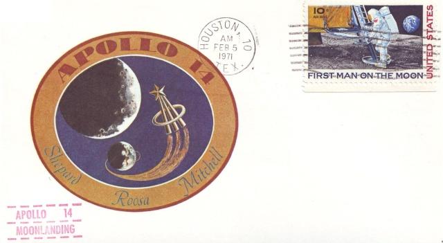 La mission Apollo 14 par la philatélie 1971_010