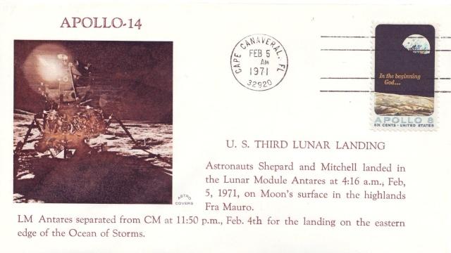La mission Apollo 14 par la philatélie 1971_011