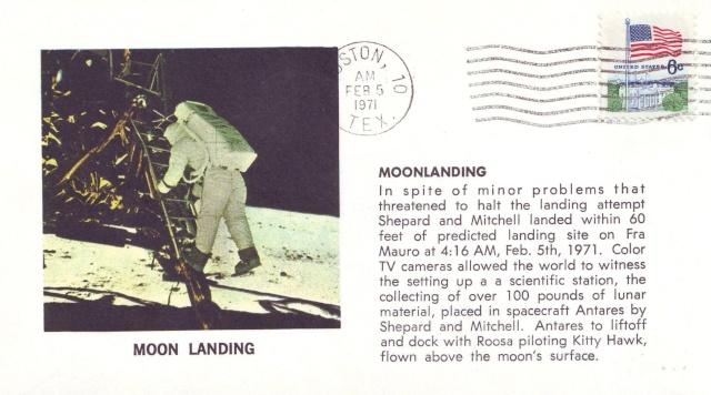 La mission Apollo 14 par la philatélie 1971_012