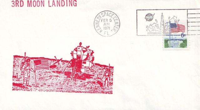 La mission Apollo 14 par la philatélie 1971_013