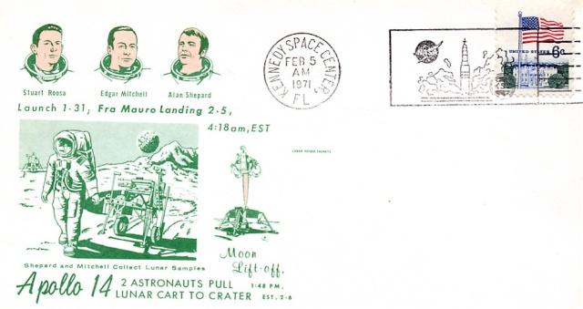 La mission Apollo 14 par la philatélie 1971_014