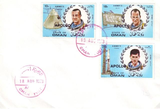 Philatélie Spatiale - 27 janvier 1967 - Apollo 1 1973_010