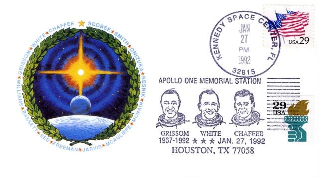 Philatélie Spatiale - 27 janvier 1967 - Apollo 1 1992_010