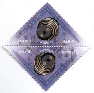 [Astrophilatélie] Emission du timbre 50 ans lancement Satellite A-1 Astérix / 26 novembre 2015 2015_113
