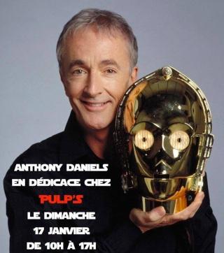 Venez rencontrer C-3PO / Anthony Daniels à Paris le 17 janvier 2016 Anthon10
