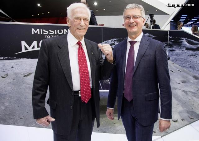 NAIAS 2016 - Salon Automobile de Détroit / Audi Lunar rover et Gene Cernan / Google Lunar XPrize Audi_l10