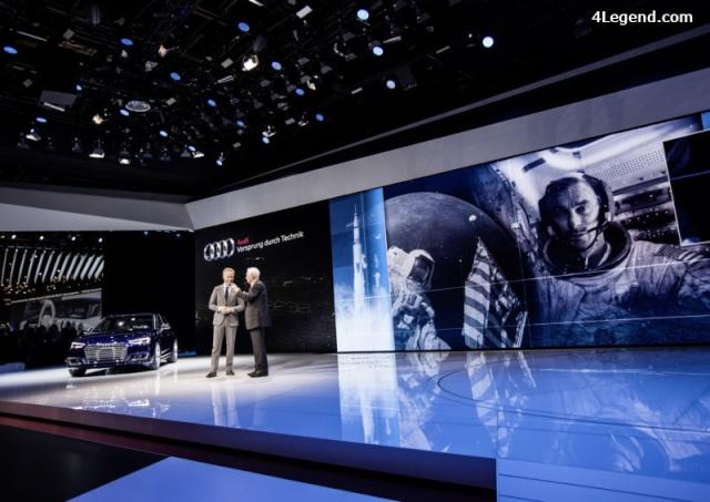 NAIAS 2016 - Salon Automobile de Détroit / Audi Lunar rover et Gene Cernan / Google Lunar XPrize Audi_l12