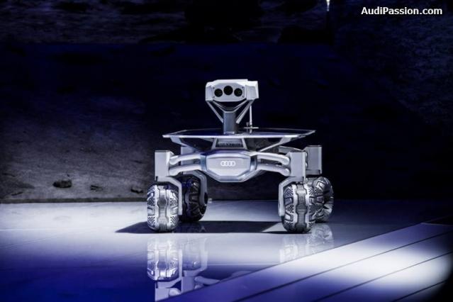 NAIAS 2016 - Salon Automobile de Détroit / Audi Lunar rover et Gene Cernan / Google Lunar XPrize Audi_l13
