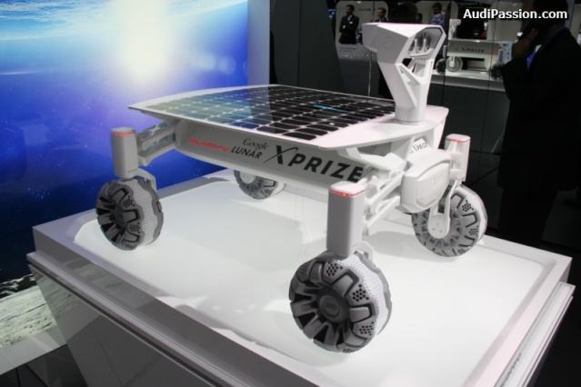 NAIAS 2016 - Salon Automobile de Détroit / Audi Lunar rover et Gene Cernan / Google Lunar XPrize Audi_l14