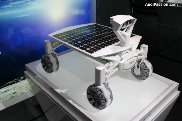 NAIAS 2016 - Salon Automobile de Détroit / Audi Lunar rover et Gene Cernan / Google Lunar XPrize Audi_l15