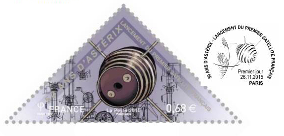 [Astrophilatélie] Emission du timbre 50 ans lancement Satellite A-1 Astérix / 26 novembre 2015 Captur10