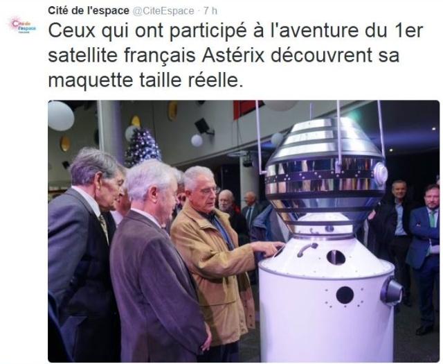 [Commémoration] 50ème anniversaire du premier satellite français A-1 / 26-29 novembre 2015 à la cité de l'Espace à Toulouse (31) Captur12
