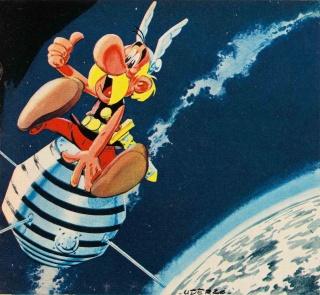 26 novembre 1965 : La France devient la troisième puissance spatiale  Diaman14