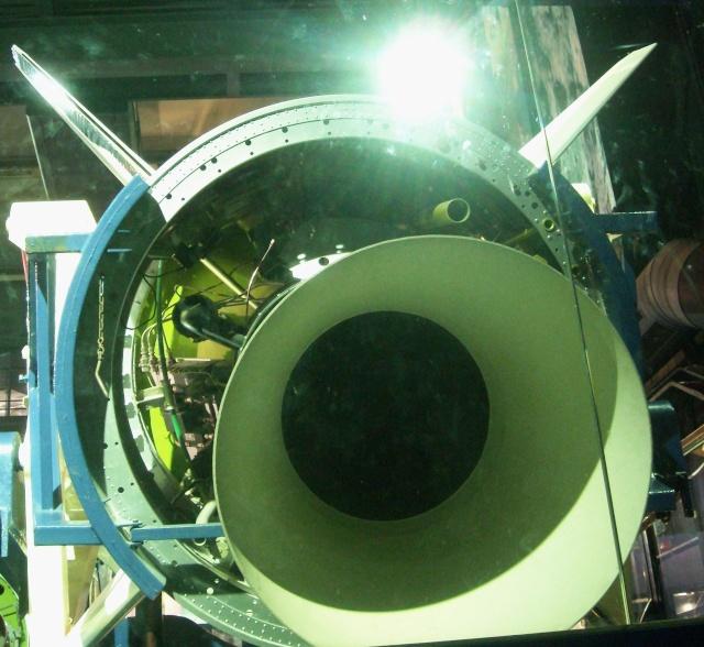 Le Diamant A et le satellite A1 Astérix du Musée de l'Air et de l'Espace au Bourget Fusee_11