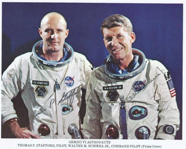Gemini 7 et 6A / 50ème anniversaire Gemini10