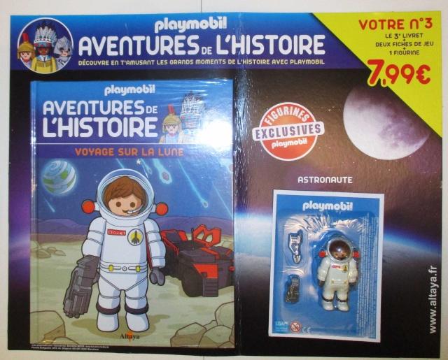 Playmobil Astronaute - Voyage sur la Lune / Collection Aventures de l'histoire - 2016 Img_6310