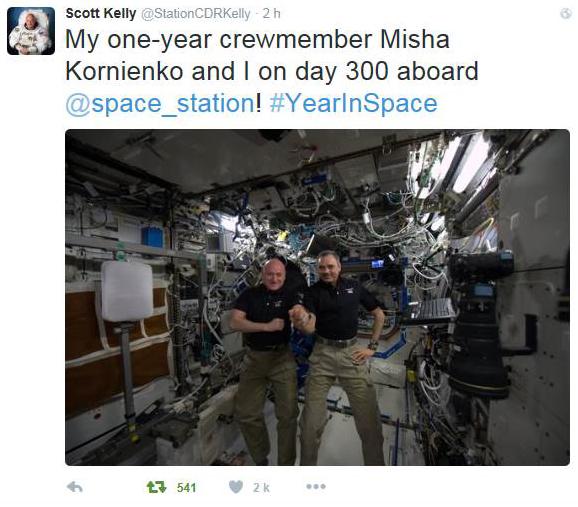 ISS ONE YEAR / Mission d'un an sur l'ISS - Déroulement de la mission Iss_3010