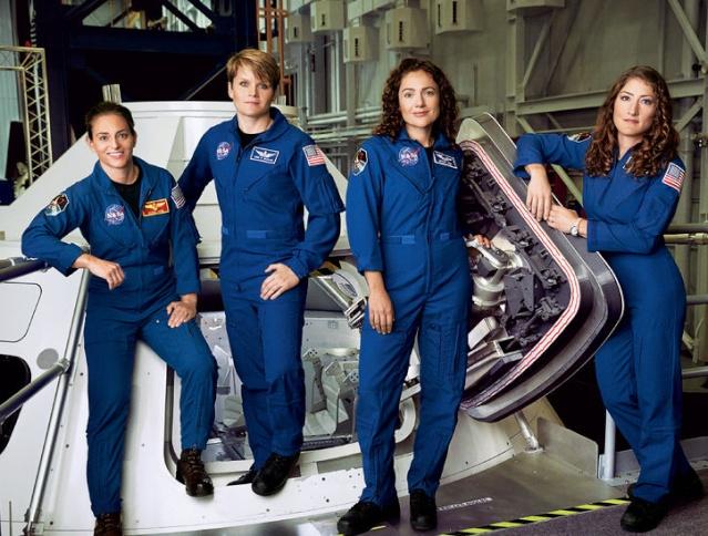 4 astronautes femmes de la NASA qui veulent aller sur Mars / Magazine Glamour Mars-a10