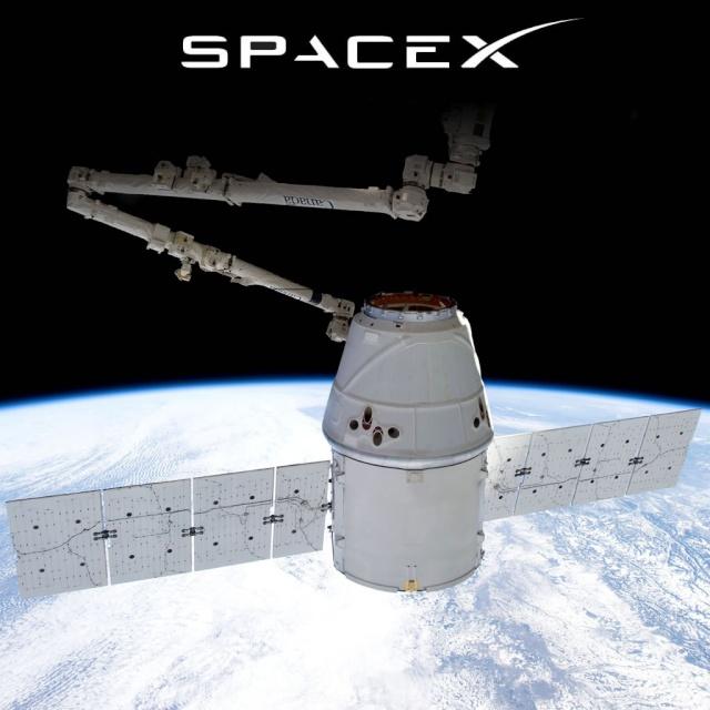 [ISS] La NASA sélectionne SpaceX, Orbital ATK et Sierra Nevada pour le ravitaillement de l'ISS (CRS-2) Spacex13