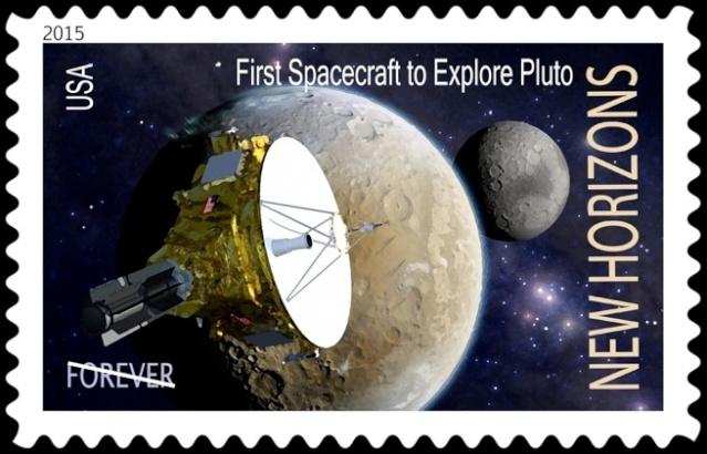 [Astrophilatélie] New Horizons et Pluton / Lune et Système Solaire par la Poste américaine en 2016 Stamp_10