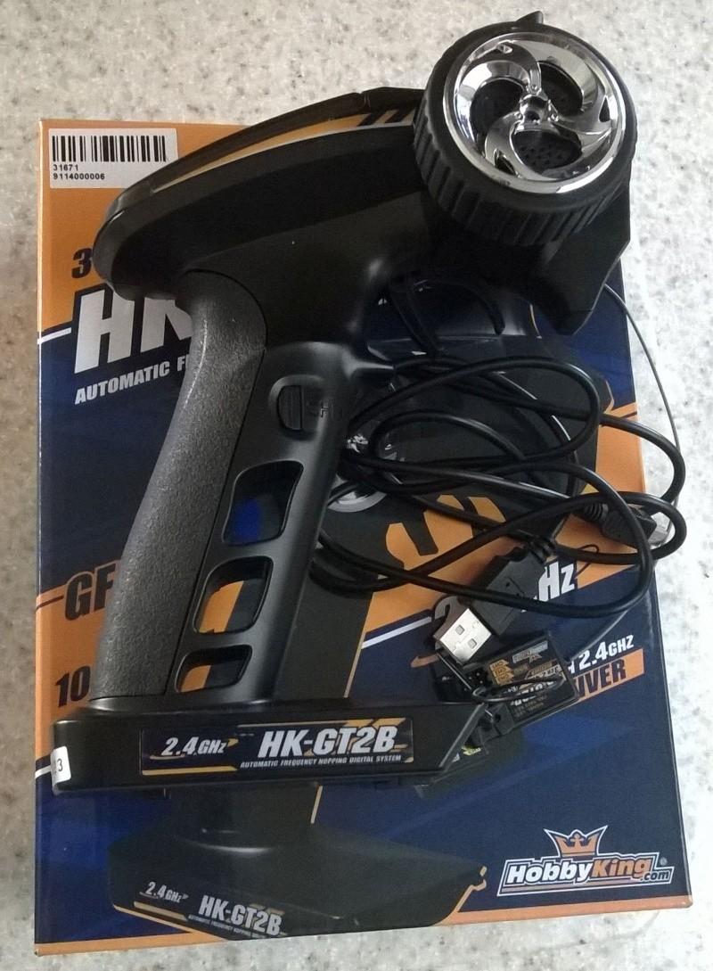 2.4Ghz 3-Channel Pistol Grip Radio - $15.00 Hkgt2b10