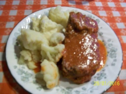 Pain de viande au jus de tomate 12039710