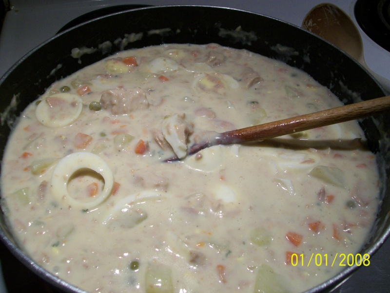 Sauce aux oeufs et au thon 2008-012