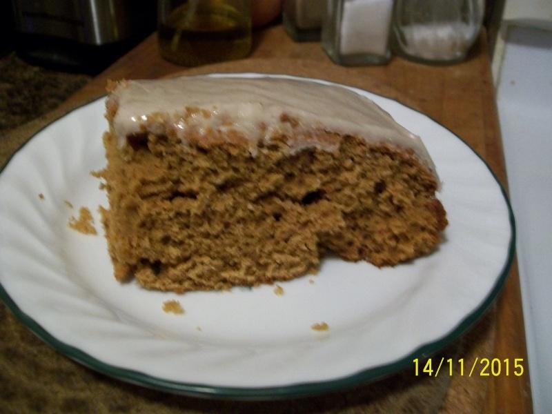 Gâteau à la farine de maïs et mélasse 2015-112