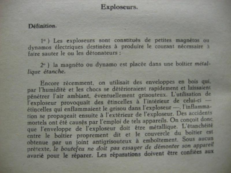 lampes de mineurs,  divers objets de mine, outils de mineur et documents  - Page 3 00119