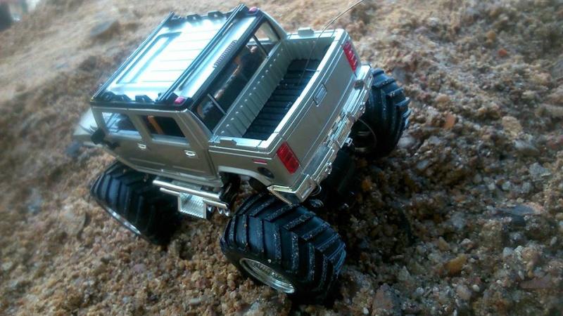 Présentation de mon nouveau Hummer H2 ! 100 % écologique car électrique 10342510
